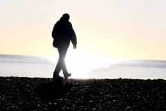 'Beach Walker' by Jonathan Grant