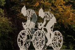 'Autumn Cycle Race' by Peter Shelley